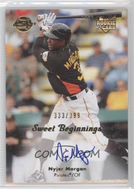 2008 Sweet Spot - [Base] #142 - Nyjer Morgan /399