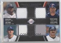 Travis Hafner, David Ortiz, Jim Thome, Jason Giambi