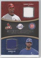Albert Pujols, Derrek Lee
