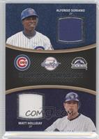 Alfonso Soriano, Matt Holliday