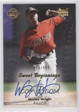 2008 Sweet Spot #149 - Wesley Wright /499