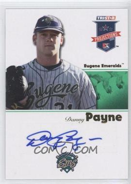 2008 TRISTAR PROjections - [Base] - Green Autographs [Autographed] #296 - Danny Payne /50