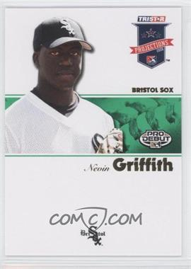 2008 TRISTAR PROjections - [Base] - Green #92 - Nevin Griffith /50