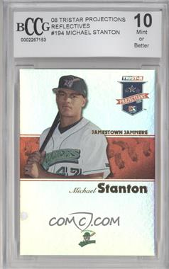 2008 TRISTAR PROjections - [Base] - Reflectives #194 - Giancarlo Stanton [ENCASED]
