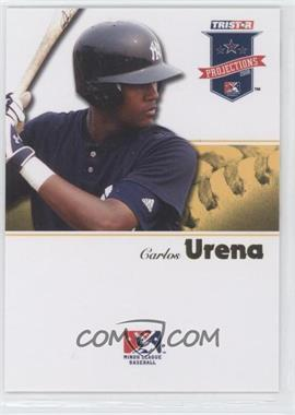 2008 TRISTAR PROjections - [Base] - Yellow #219 - Carlos Urena /25