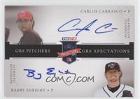 Carlos Carrasco, Barry Enright /25
