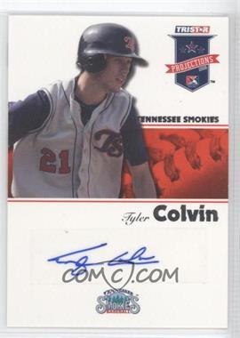 2008 TRISTAR PROjections Autographs [Autographed] #129 - Tyler Colvin