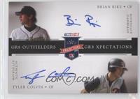 Brian Rike, Tyler Colvin /25
