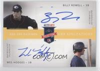 Billy Rowell, Wes Hodges /25
