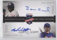 Jose Ceda, Josh Vitters /50