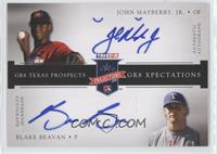 Blake Beavan, John Mayberry Jr. /50