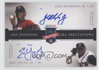 John Mayberry Jr., Eric Young Jr. /50