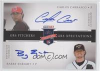 Barry Enright, Carlos Carrasco /25