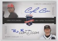 Carlos Carrasco, Barry Enright /50