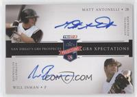 Matt Antonelli, Will Inman /25
