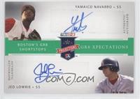 Yamaico Navarro, Jed Lowrie /50