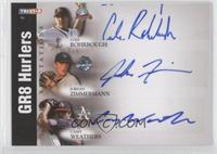 Jordan Zimmermann, Casey Weathers, Cole Rohrbough /25