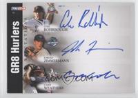 Jordan Zimmermann, Casey Weathers, Cole Rohrbough /50