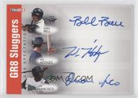 Bubba Bell, Wes Hodges, Juan Francisco /25