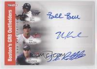 Buddy Bell, Ryan Kalish, Josh Reddick, Bubba Bell /25