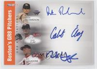 Dustin Richardson, Cap Clark, Nick Hagadone, Caleb Clay /5
