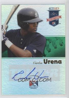 2008 TRISTAR PROjections Green Reflectives Autographs [Autographed] #219 - Carlos Urena /50