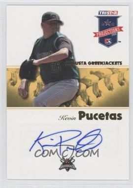 2008 TRISTAR PROjections Yellow Autographs [Autographed] #118 - Kevin Pucetas /25
