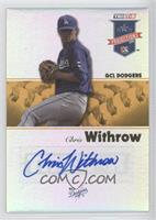 Chris Withrow /25