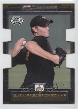 2008 TRISTAR Prospects Plus PROminent Yellow Die-Cut #39 - Evan Frederickson /25