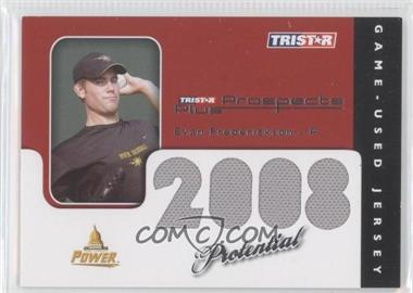 2008 TRISTAR Prospects Plus PROtential Game Used #EF - Evan Frederickson /199