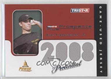 2008 TRISTAR Prospects Plus PROtential Game Used #P-EF - Evan Frederickson /199