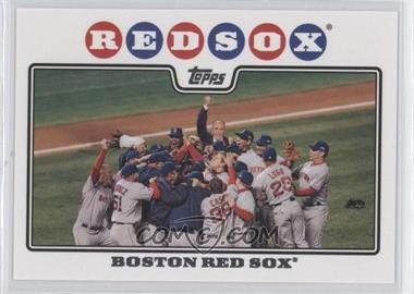 2008 Topps - [Base] #234.2 - Boston Red Sox Team (Rudy Guiliani)