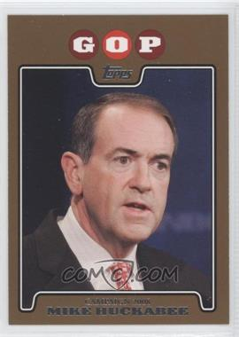 2008 Topps - Campaign 2008 - Gold #C08-MH - Mike Huckabee