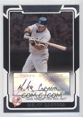 2008 Topps - Highlights Certified Autographs - [Autographed] #HA-MC - Melky Cabrera