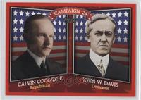 Calvin Coolidge, John W. Davis