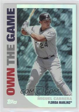 2008 Topps - Own the Game #OTG10 - Miguel Cabrera