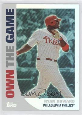2008 Topps - Own the Game #OTG14 - Ryan Howard