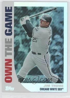 2008 Topps - Own the Game #OTG8 - Jim Thome