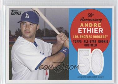 2008 Topps All Rookie Team 50th Anniversary Relics #ARR-AE - Andre Ethier /50