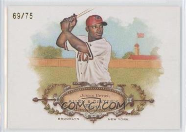 2008 Topps Allen & Ginter's - Rip Cards #RC64 - Justin Upton /75