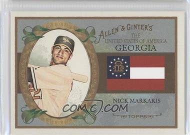 2008 Topps Allen & Ginter's - The United States of America #US10 - Nick Markakis