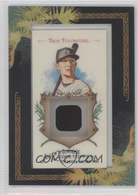 2008 Topps Allen & Ginter's Framed Mini Relics #AGR-TT - Troy Tulowitzki