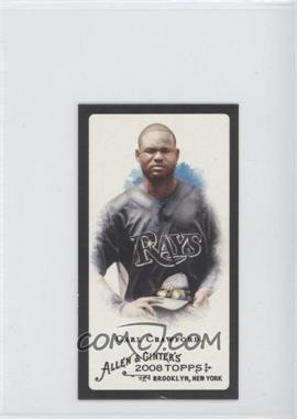 2008 Topps Allen & Ginter's Mini Black Border #340 - Carl Crawford