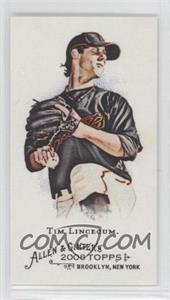 2008 Topps Allen & Ginter's Minis No Number Back #TILI - Tim Lincecum