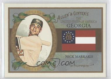 2008 Topps Allen & Ginter's The United States of America #US10 - Nick Markakis