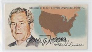 2008 Topps Allen & Ginter's The World's Leaders Minis #WL49 - George W. Bush (United Stats of America)