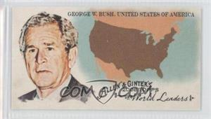 2008 Topps Allen & Ginter's The World's Leaders Minis #WL49 - George W. Bush Jr. (United Stats of America)