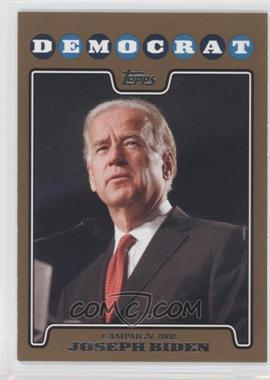 2008 Topps Campaign 2008 Gold #C08-JB - Joseph Biden