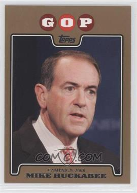 2008 Topps Campaign 2008 Gold #C08-MH - Mike Huckabee