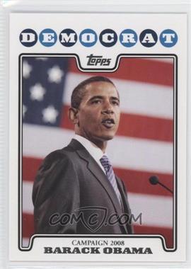 2008 Topps Campaign 2008 #C08-BO - Barack Obama